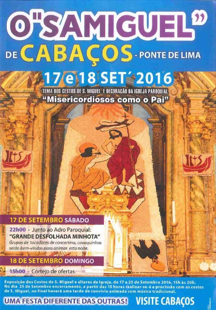 Festas de SAMIGUEL 2016