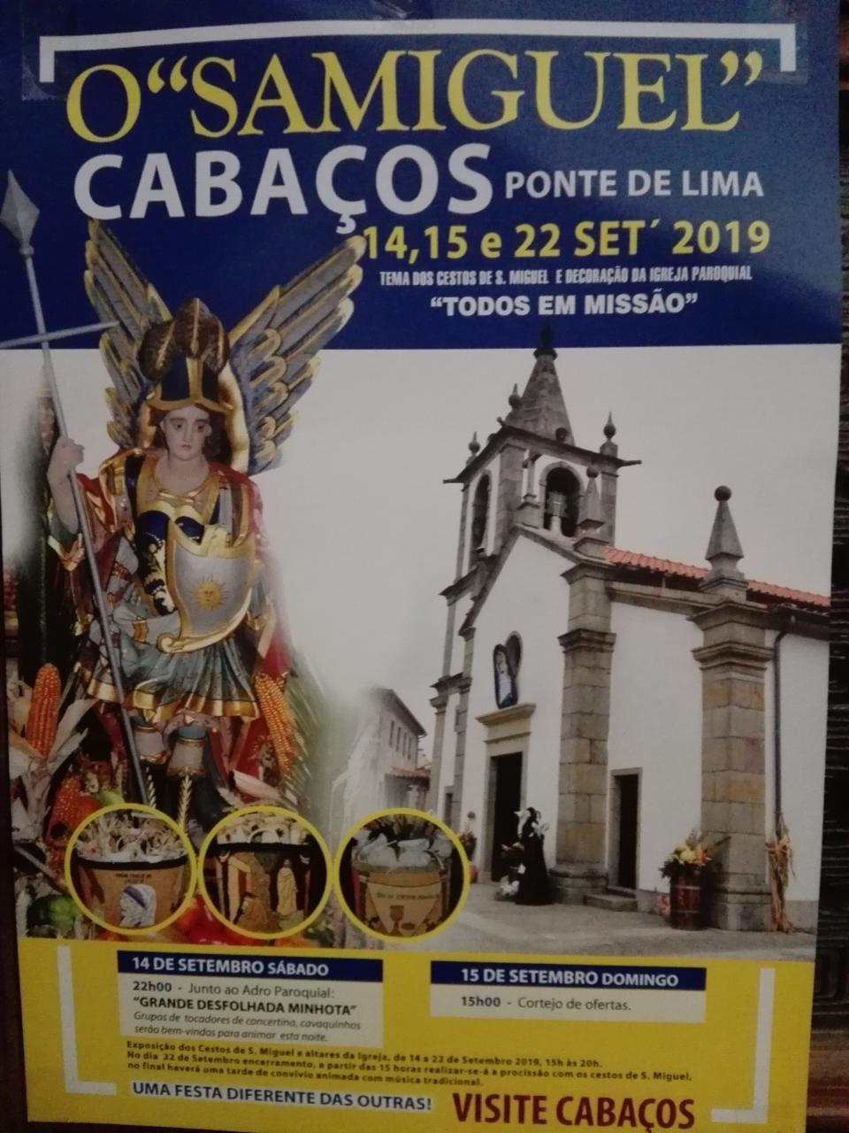 Festas S. Miguel 2019
